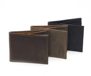 Leather Slim Fold Wallet